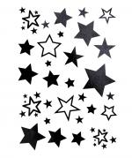 Black Stars Flash Tattoo