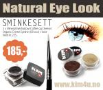 Natural Eye Look SMINKESETT