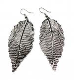 Silver Leaf Dangle
