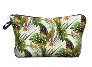 Tropical Flowers Makeupbag