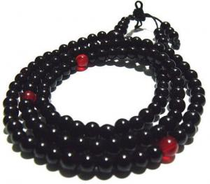 Black Jade Beads 8mm