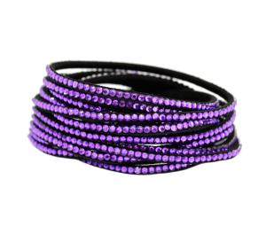 Purple Crystal Wrap