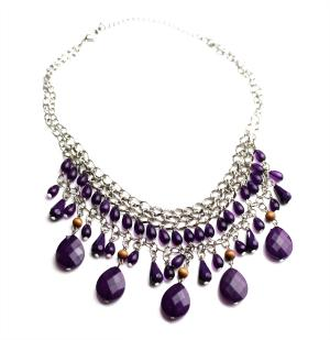 Purple Bead Beauty