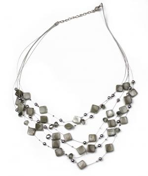 Grey n Silver Beauty Beads