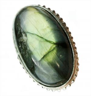 Green Fire Labradorite